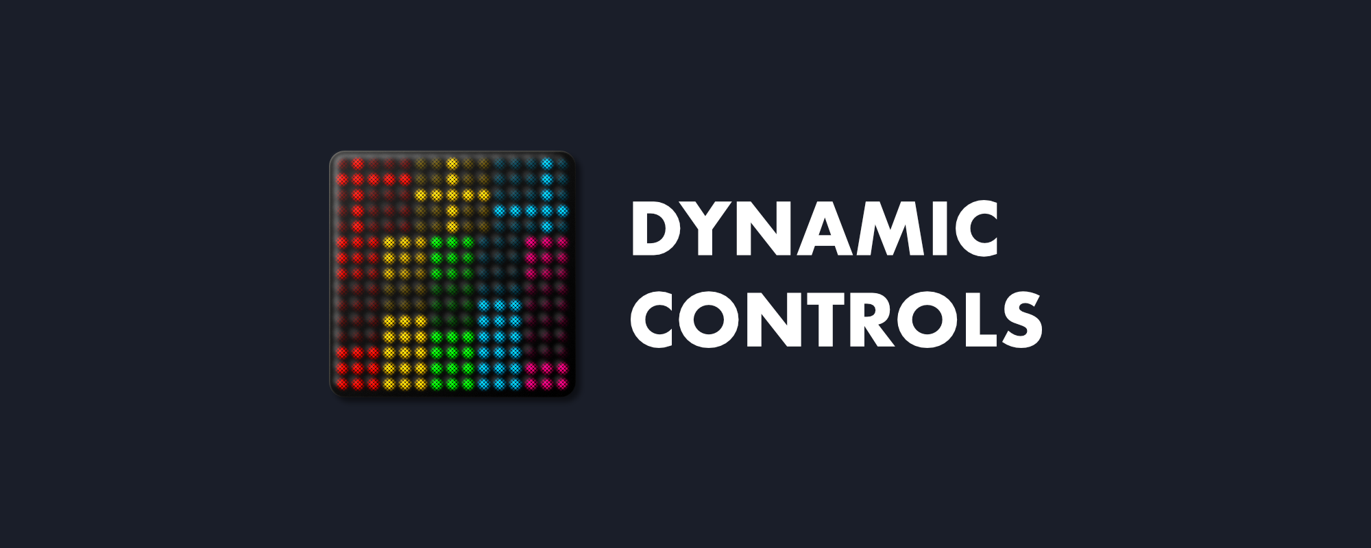 Dynamic Controls app for ROLI Lightpad Block